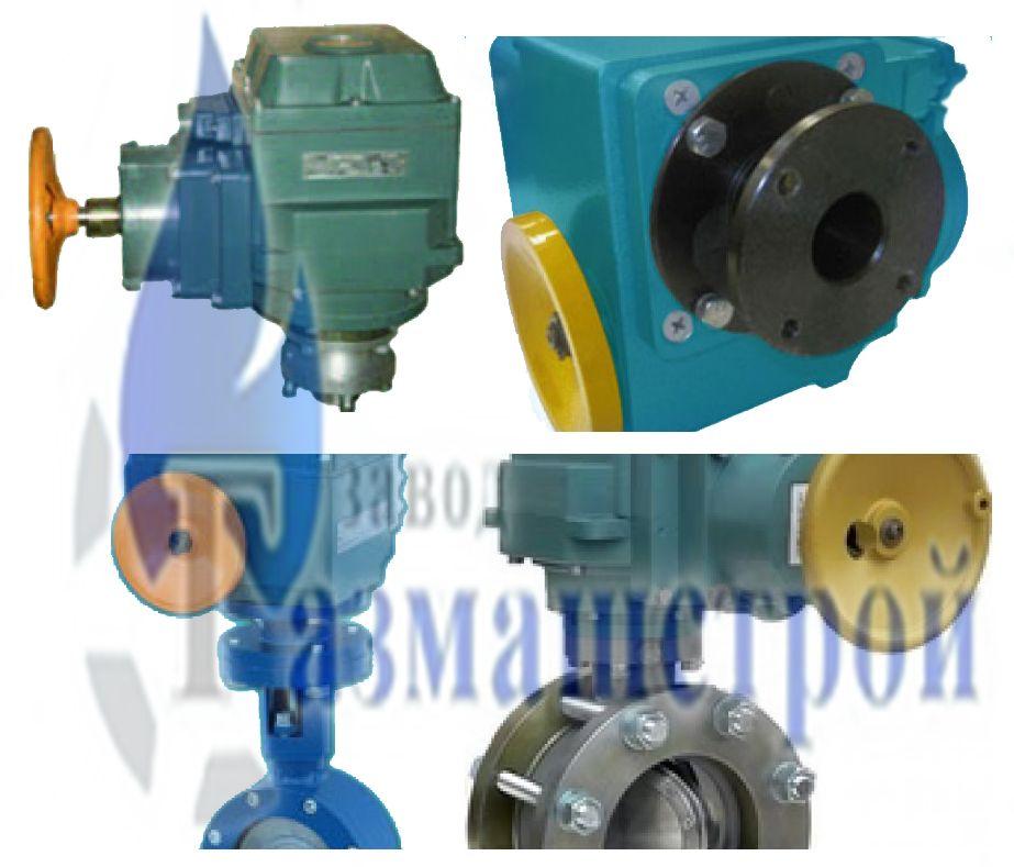 Клапан предохранительно запорный электромагнитный газовый КПЗЭ с МЭО (МБО)