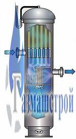 Фильтр-сепаратор газовый ФГС-ПР Ду 500 Ру 120